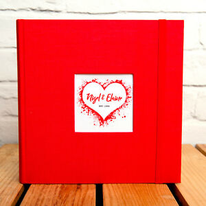 PERSONALISED-LOVE-HEART-PHOTO-ALBUM-HOLDS-200-6x4-PHOTOS-ADD-YOUR-NAMES-YEAR