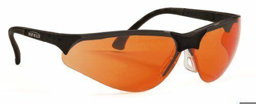 Terminator UV-400Safety Glasses for Blue Light and UV Orange