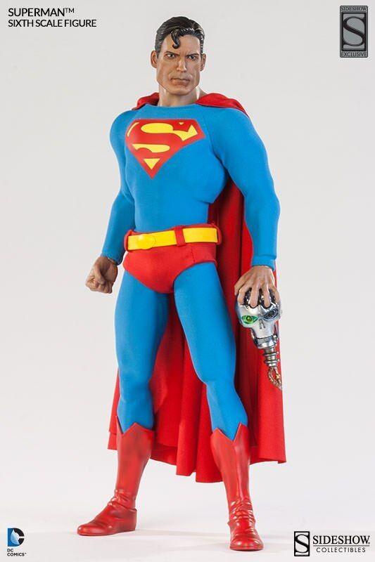 descuento de ventas en línea Sideshow Exclusivo Clásico Clásico Clásico DC Comics 1 6 Figura De Acción De súperman  Venta barata