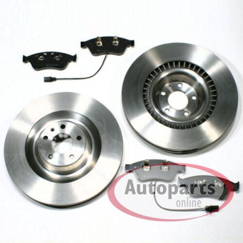 Bremsscheiben Bremsbeläge Warnkabel für vorne Vorderachse VW Phaeton 3D