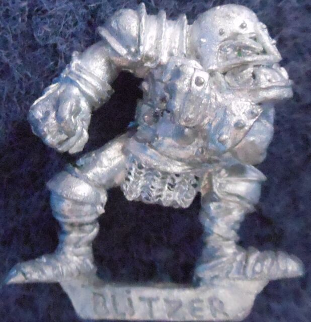 1988 Orc Bloodbowl 2nd Edition Blitzer 2 Citadel BB102 Fantasy Football Ork Team