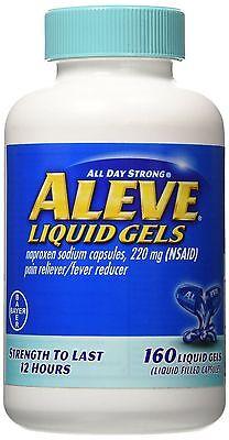 New   Aleve LiquidGels 160 LiquidGels