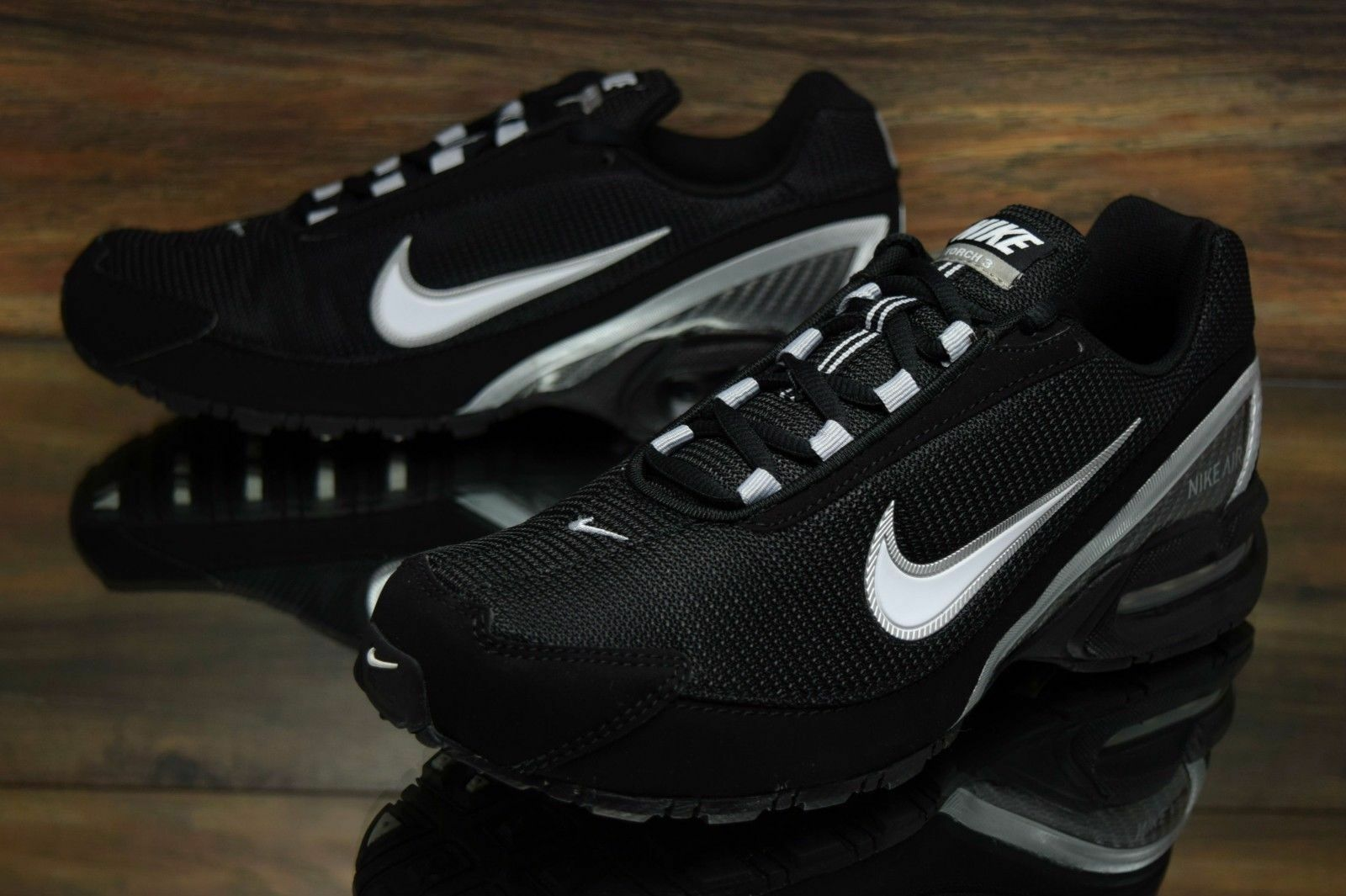 cb654aae69ad Nike Air Max Torch 3 Black White Running Shoes Sz 11.5 for sale ...