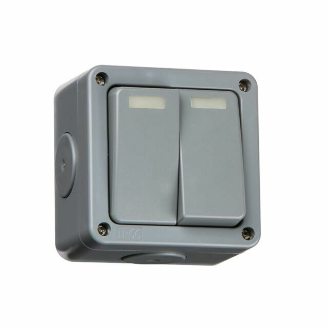 Outdoor Weatherproof IP66 Switch /& Socket Timer /& RCD Multi Option Accessories