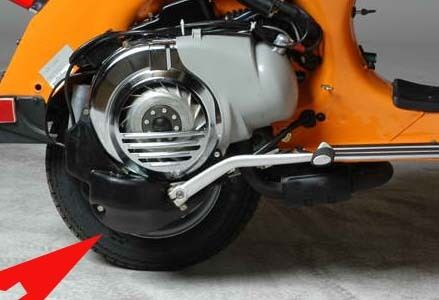Vespa plastic engine cover VBA VBB VBC VLB VNB VNA LML STELLA GL