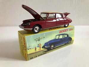1-43-Dinky-Toys-Atlas-Citroen-Ds-19-Bordeaux-530-Collection-Neuf
