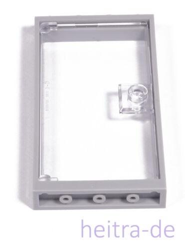 Lego-porte cadre gris clair 1x4x6 avec porte Clairement Transparent//60596 article neuf 60616