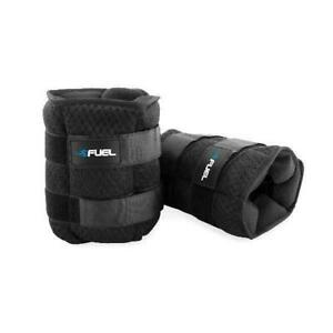 NEW Home Gym Ankle Weights Pair 2 Lb Wrist Arm Leg Running Exercises RED