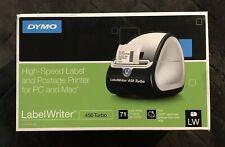 Dymo Labelwriter 450 Turbo Label Thermal Printer Black