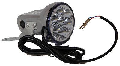 LED Vorderlicht Frontlicht mit 7 LEDs NEU Ersatzteil SXT Elektro Scooter