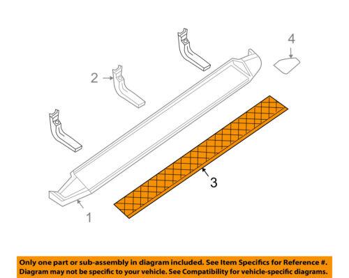 Infiniti NISSAN OEM 04-10 QX56 Exterior-Step Pad Right 769467S600