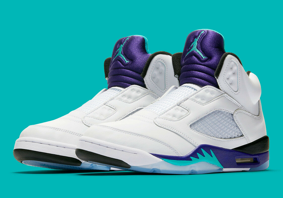 2018 NIKE AIR JORDAN V 5 FRESH PRINCE TailleS6 8.5 9 9.5 11 NEW
