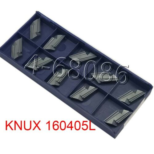 10pcs KNUX 160405 L Carbide Inserts Cutting Tools lathe turning blade for lathe