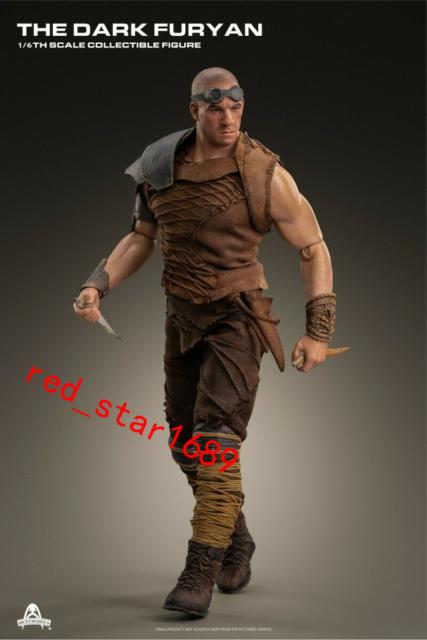 """Art Figures  Vin Diesel 1/6  AF025 The Dark Furyan 2.0 12"""" Action Figure Presal"""