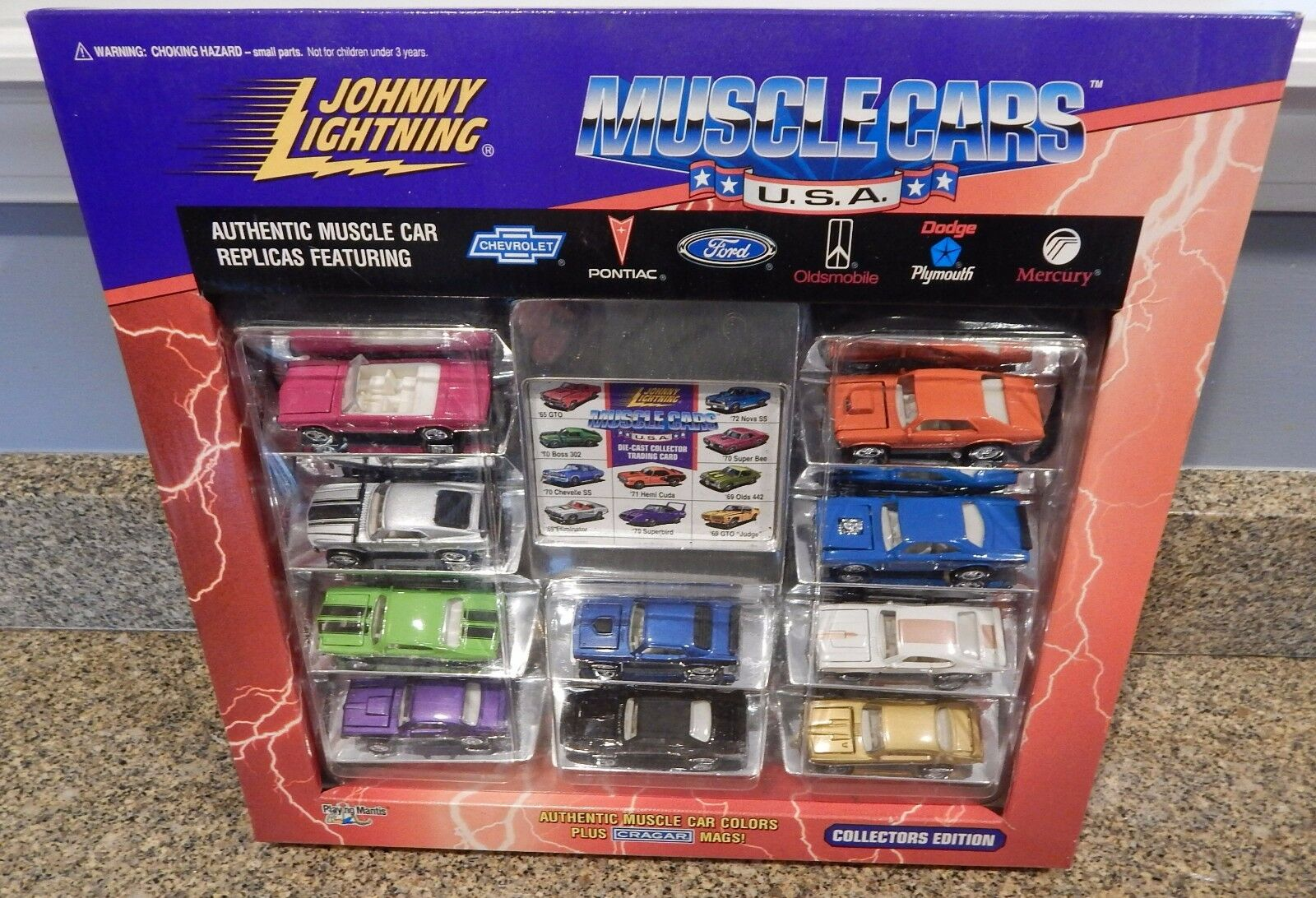 NIB Johnny Lightning Muscl Cars USA 10 Car Car Car Set 1 64 JL 3da8a5