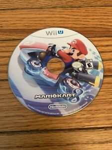 Mario Kart 8 For Nintendo Wii U Disc Only - Tested - Completed