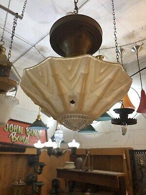 Art Deco Closet Stairway Hallway Kitchen Entry Ceiling Light Jazz Age Ebay