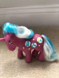 ❤️My Little Pony MLP G1 Vtg Twice as Fancy Sunshine BEACH BALL Unicorn 1985❤️