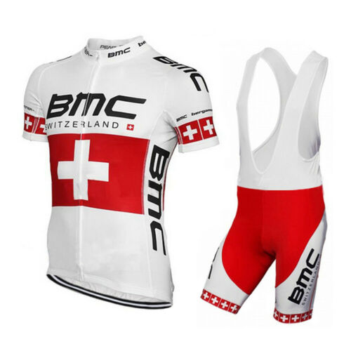Men/'s Cycling Wear Kit Short Sleeve Jersey and Bib Shorts Bike Clothing Set FAST