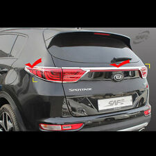 Chrome Rear Lamp tail lights Protector Guards for Kia Sportage QL 2017+