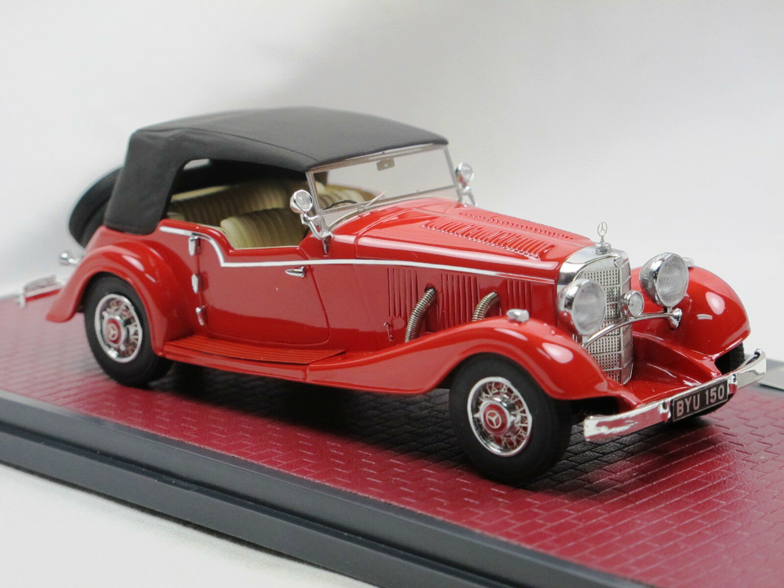 Matrice 1934 Mercedes-Benz Mercedes-Benz Mercedes-Benz 500k Tourer by Mayfair Closed 1 43 limited edition 199 c24e12