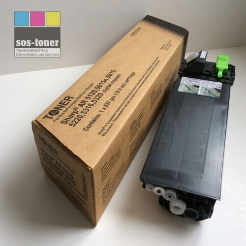Toner Sharp AR-5015//5020//5120//5316//5320 AR-016LT 1x à 537g NEUWARE