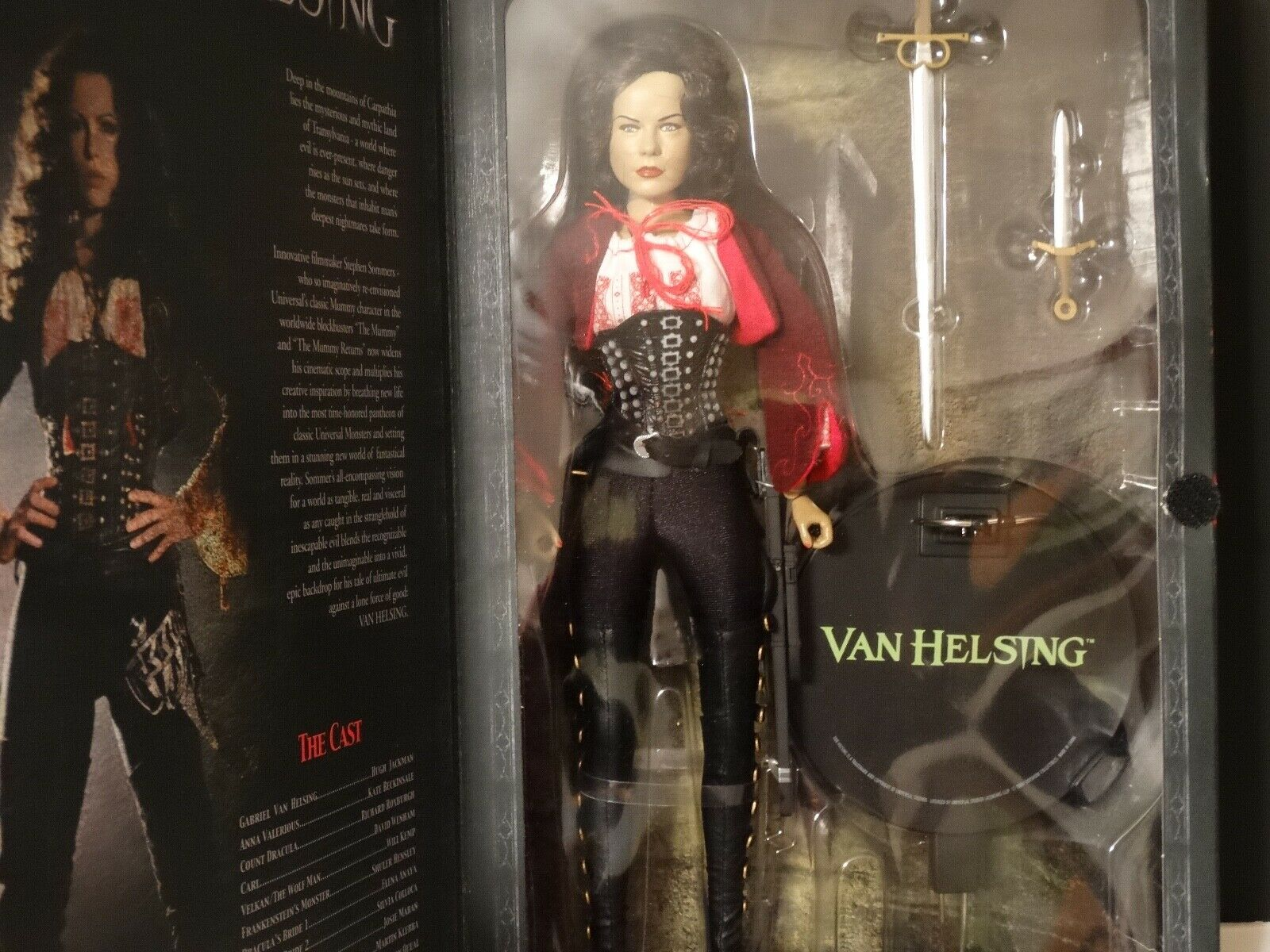 Sideshow 1 6 Anna Valerious Action Figures 2004