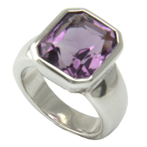 Amethyst Ring 14x12 Mm (sterlingsilber 925) Amethystring