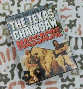 Texas-Chainsaw-Massacre-Playing-Cards-Set-of-52-Sealed-Game
