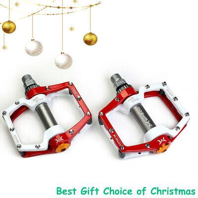 "Mountain Bike Pedals Bike Platform Aluminum Sealed Bearing 9//16/"" Christmas Gift"