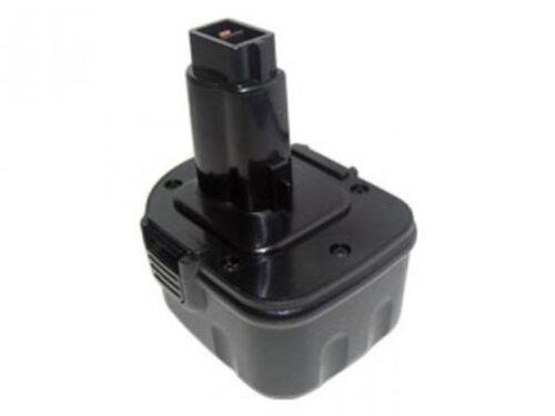 Powersmart 12V 2200mAh Batterie pour Dewalt DCD945B2 DE9071 DW051K DW052K