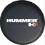 """32/"""" 33/"""" Wheel Spare Tire Cover For HUMMER H3 Soft Vinyl Protector Tire Covers"""
