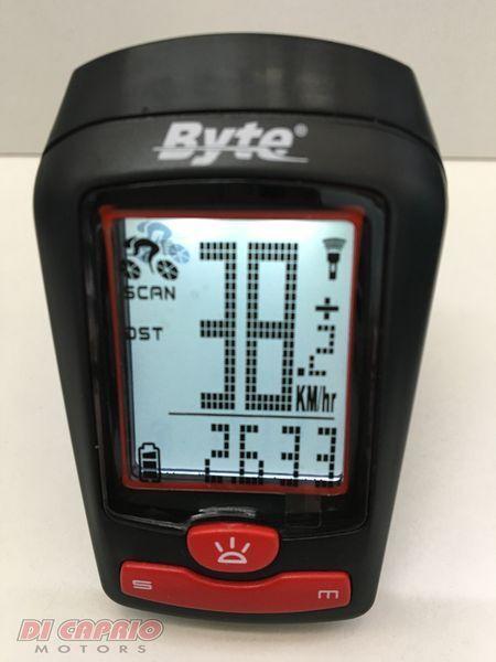 Cyclocomputer odometer Wireless bike MTB Byte with light 5 led