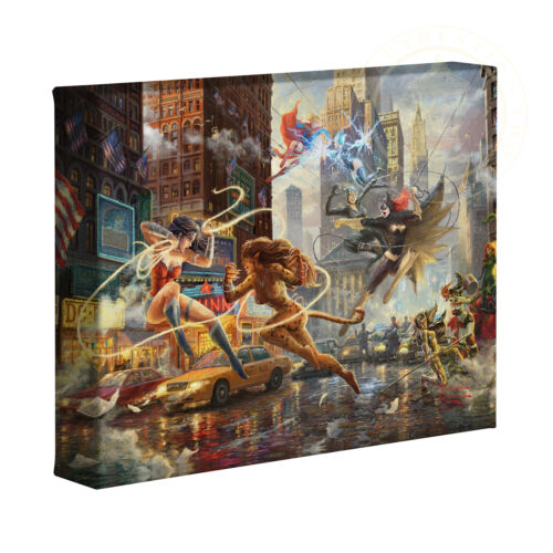 Thomas Kinkade Studios Woman of DC 8 x 10 Gallery Wrapped Canvas