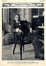 Baron Komura der japanische Bevollmächtigte in Amerika Friedensver..Bilddok.1905