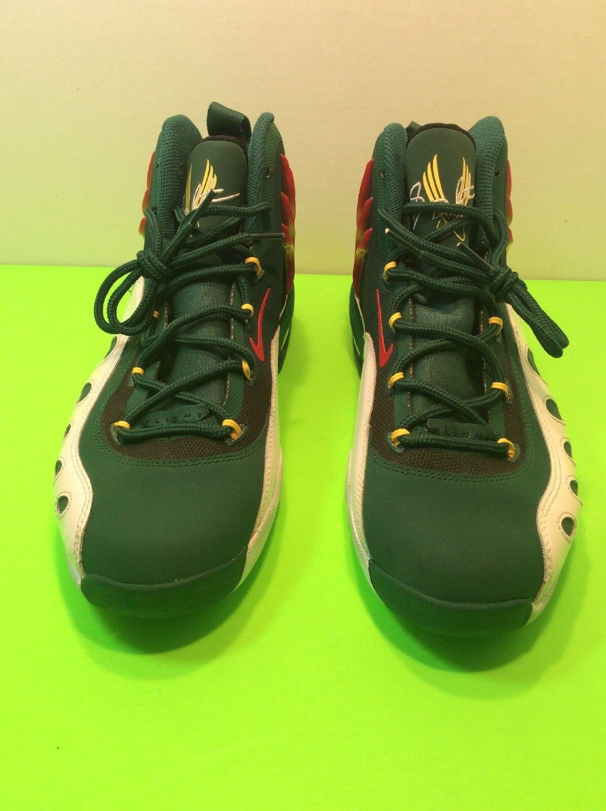 Nike Sonic Flight Supersonics 641333-300 Payton Basketball shoes Men8.5 NBA new