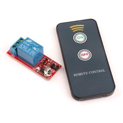Un canale 1ch 5v LED Modulo Relè con Telecomando a infrarossi IR NUOVO