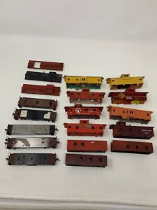 Ho-Scale-Caboose-Lot-Kit-Assembled-Gn-Atsf-Cp-Parts-Or-Repair-As-Is
