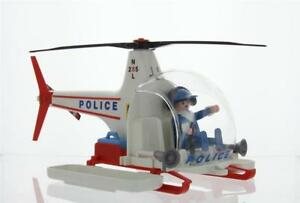 Playmobil-3144-Police-Helicopter-Vintage-Set-Complete-with-Retail-Box