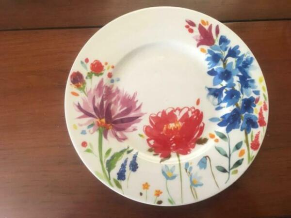 Villeroy Boch Anmut Flowers Salad Plate For Sale Online Ebay