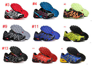 New-Men-039-s-amp-Boy-Salomon-Speedcross-3-Athletic-Running-Outdoor-Hiking-Shoes-VIP