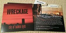 WRECKAGE - CITY OF SUNKEN EYES  DIGITIAL DOWNLOAD + SLEEVE (40) SXE NYHC STRIFE