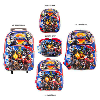 "NEW Marvel Avengers End Game 16/"" Backpack NEW WITH TAGS"