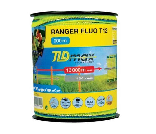 Turbo floures enclos large bande 200 m, 12 mm couleur: imprimés