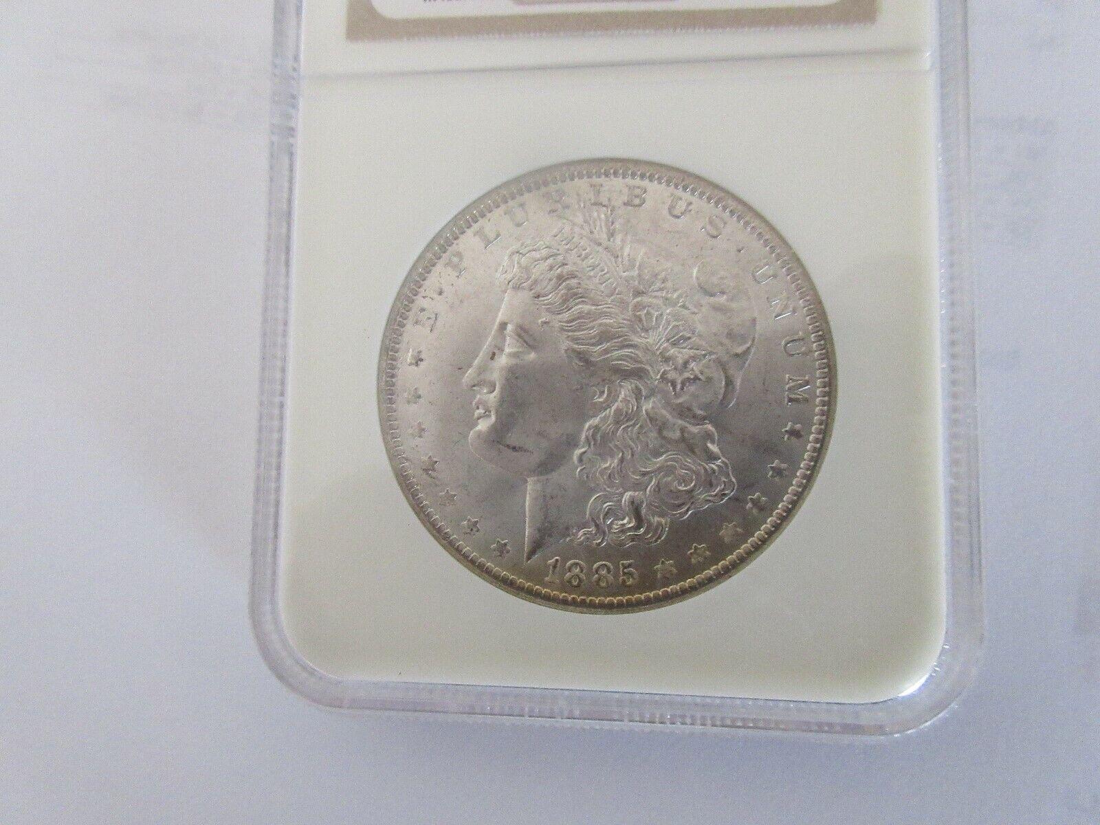 1885-O , Morgan Silver Dollar , NGC , MS 64
