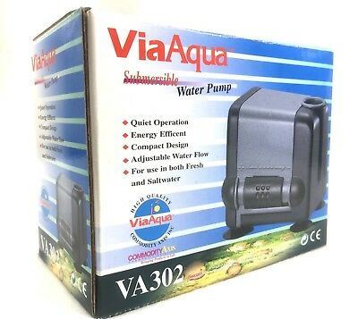 Enthusiastic Viaaqua Va302 Submersible Water Pump 130gph Aquarium Hydroponics Fountain Moderate Price