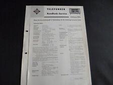 Original Service Manual Telefunken Salzburg 2194