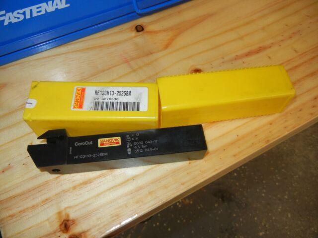 RF123H2020-4T25 RF123H25-2020BM Grooving cut-off holder  for N123-0400 Sandvik