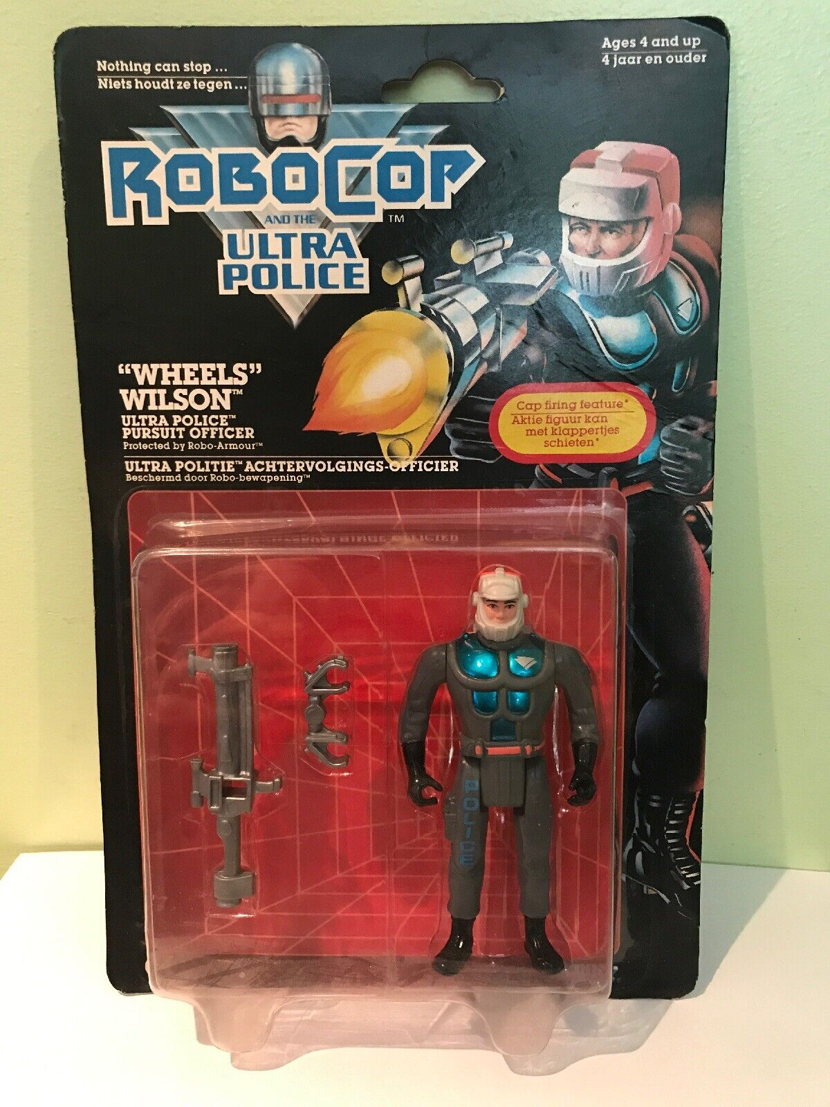 Kenner ROBOCOP And The Ultra Police Wheels Wilson MOC Carded 1988 Orion
