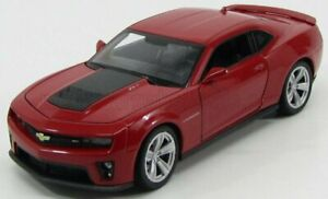 WELLY 1/24 CHEVROLET   CAMARO ZL1 COUPE 2013   RED